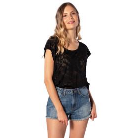 Rip Curl Viamala Flower T-shirt Femme, black